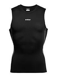 Бег Сжатие костюм / Нижняя часть Муж. Сжатие видеоизображений Бег Спорт Спортивная одежда Облегающие Однотонный