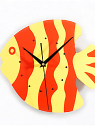 Tropical Marine Fish Lovely Wall Clock