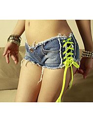 Sexy&Hot Nightclub Womens Denim Jean Short Shorts Low Waist Hot Pants