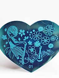 bluezoo de metal stamping art 01 do prego