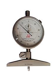 0-100MM Dial Mechanical Depth Instrument Level Measuring Tool