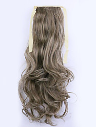 Flaxen Length 50CM Factory Direct Sale Bind Type Curl Horsetail Hair Ponytail(Color 10/613)