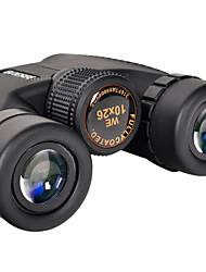 BRESEE 10X25 mm Binoculars Wide Angle Weather Resistant General use BAK4 Multi-coated Normal # Central Focusing