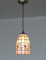 5 inch Retro Tiffany Pendant Lights Shell Shade Living Room Dining Room light Fixture
