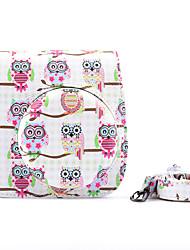 Instax Case Bag Case with Shoulder Strap and Pocket (Deer) for Fujifilm Mini8 Mini8s Mini8+ Blue Owl White