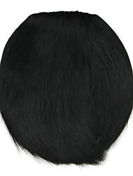 peluca negro estilo cuchillo de 8 cm de alambre de alta temperatura de color de 4010 golpea