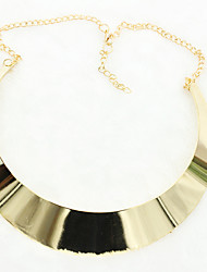 Necklace Pendant Necklaces Jewelry Wedding / Party / Daily / Casual Alloy / Silver Plated / Gold Plated Gold / Silver 1pc Gift