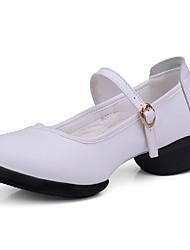 Zapatos de baile(Negro / Rojo / Blanco) -Moderno-No Personalizables-Tacón Bajo