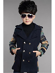 Boy's Cotton Down & Cotton Padded,Winter Check