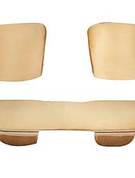 L'ivoire textile coussin de siège de voiture
