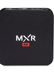 MXR Smart Android TV Box 2160p rk3229 quad-core 1G / 8G wifi XBMC UHD 4K 3D H.265 DLNA Miracast airplay HDD USB