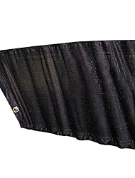 Black Dots Mesh Cloth Auto Front Windshield Sunshades Sun Protector