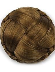 viziosa oro riccio Europa sposa capelli umani senza cappuccio parrucche chignon g660232-L 2005