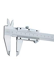 précision 0-150mm outil de mesure de niveau de l'instrument de carte de ligne vernier étrier 0.02 de précision