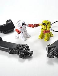 YQ YQ88196 Ivoor / Geel Robot Radio control Robots
