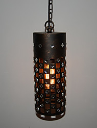 Vintage Iron Lampshade LOFT Bar Bar Restaurant American Wind Industry Single-Head Chandelier