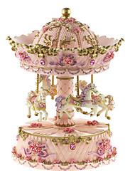 cerâmica rosa box / branco / amarelo criativo música romântica para o presente