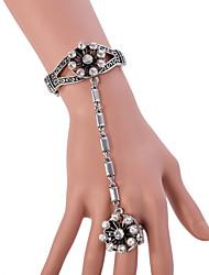 Bracelet Chaînes & Bracelets / Charmes pour Bracelets / Bracelets Bagues Alliage Mariage / Soirée / Quotidien Bijoux Cadeau Argent,1pc
