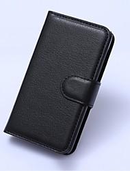 suporte do telefone em relevo PU carteira de couro para nokia lumia 530