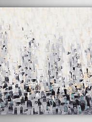 handgemaltes Ölgemälde abstrakten schwarz verblassen mit gestreckten Rahmen 7 Wand ARTS®