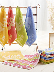 5pc Pack Random Color Cartoon Hand Towel 100% Cotton High Quality Super Soft