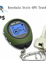 New Mini Tracking Device Travel Protable Keychain Locator Pathfinding Outdoor Handheld Tracker Watch-shaped Design