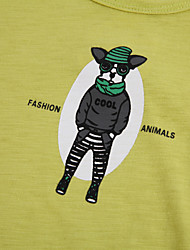 Tee-shirts Boy Motif Animal Eté Coton