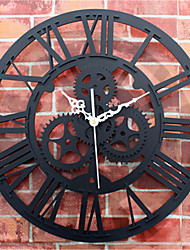 European Antique Wall Clock Gear
