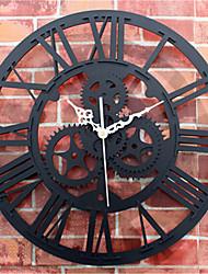 Moderno/Contemporâneo Outros Relógio de parede,Redonda Acrilico 30*30*5 Relógio