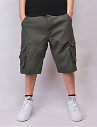 Men's Shorts,Casual Solid Nylon