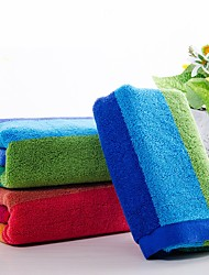 "2pc Pack Luxury Full Cotton Bath Towel Super Soft 13.7"" by 29.5"""