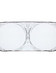 150 * 70cm Auto drei Fließheck Silber beschichtet Tuch Sunblocker