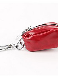 Women-Casual-PU-Key Holder-Yellow / Red / Black
