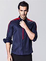 Striped Shirt Men Camisa Masculina Shirts Summer Style Imported Clothing Men Clothes Cotton Long Sleeve Mens Shirts