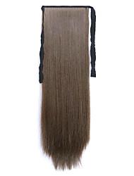 longue prêle perruque de cheveux raides marron Longeur 60cm type de liaison synthétique (couleur 8a)