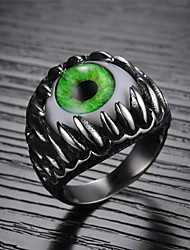 All-around Eye Evil Eye Titanium Steel Men's Ring