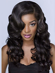 Peruvian Human Hair 10-30Inch Body Wave Natural Color Lace Front Wig,In Stock