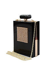L.WEST Women's The Fashion Perfume Bottle Evening Bag
