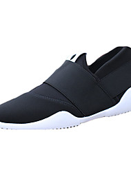 Men's Sneakers Spring / Fall Comfort Spandex Fabric / Fabric Athletic / Casual Flat Heel Lace-up Black / Blue / Orange