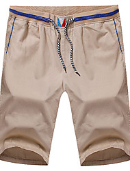 Men's Shorts,Casual / Sport Solid Cotton 916158