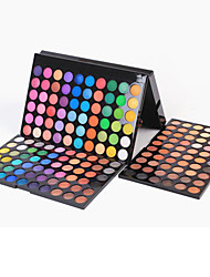 180 Lidschattenpalette Trocken / Matt / Schimmer Lidschatten-Palette Puder Groß Smokey Makeup / Party Make-up