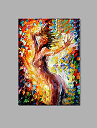 Sexy Nude Lady Wall Art Home Hotel Decor Handpainted oil Painting Ready To Hang With Frame