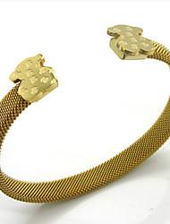 Women's Titanium Steel Bracelet Stainless Steel Bear Bracelet Fashion Accessories