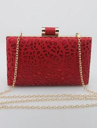 Damen PU Veranstaltung / Fest Abendtasche Gold Weiß Schwarz Silber Rot