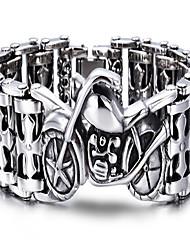Kalen®Bracelet Chain Bracelet Geometric Party / Daily / Casual Jewelry Gift Silver,1pc