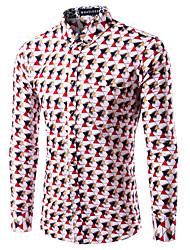 2016 New Men's Slim Fit Long-Sleeve Plaid Shirt Casual Shirts Male Cotton Dress Shirts Tuxedo Shirts