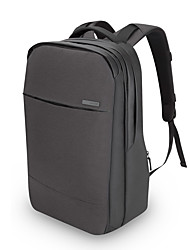 pofoko® 15,6 polegadas laptop mochila preta