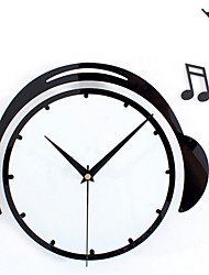 The Music Notes Flying Wall Clock