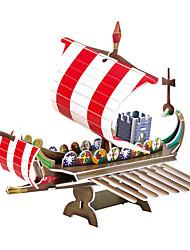 Le navire de guerre rome 3d puzzles jouets éducatifs bricolage pour les enfants et puzzle adulte Puzzle (22pcs)