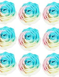 романтическая новизна мыло цветок розы подарок для любителей омывающих 9pcs / комплект